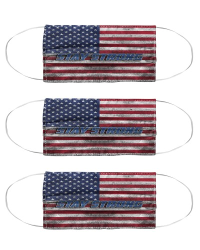 Stay Strong - American Flag Mask