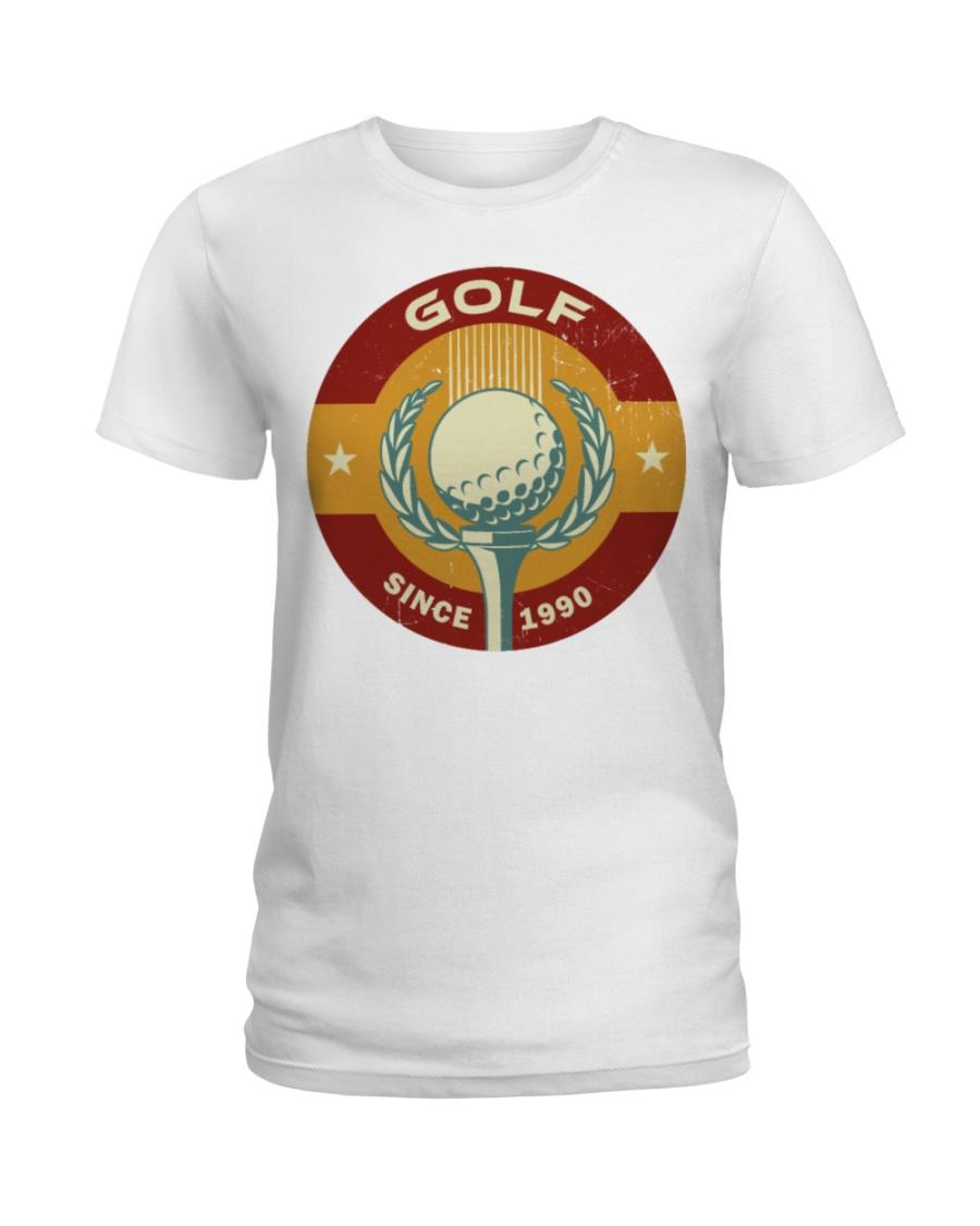 60 Golf Mens Premium T S Ladies T-Shirt