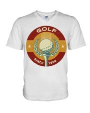 60 Golf Mens Premium T S V-Neck T-Shirt thumbnail