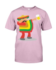 42Dabbing Man Drinking Beer Classic T-Shirt front