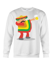 42Dabbing Man Drinking Beer Crewneck Sweatshirt thumbnail
