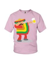 42Dabbing Man Drinking Beer Youth T-Shirt thumbnail