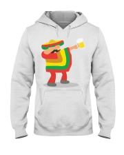 42Dabbing Man Drinking Beer Hooded Sweatshirt thumbnail
