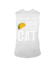 297Taco Cat Shirt Cinco De Mayo Cat Mom Gift Sleeveless Tee thumbnail