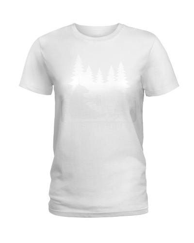 43 Camping Shirt Hiking I Hate People I Eat People
