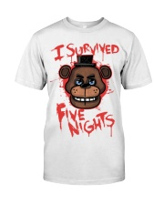 85 I Survived Five Nights Kids T S Classic T-Shirt thumbnail