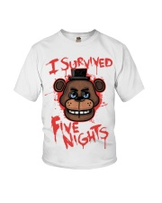 85 I Survived Five Nights Kids T S Youth T-Shirt thumbnail