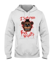 85 I Survived Five Nights Kids T S Hooded Sweatshirt thumbnail