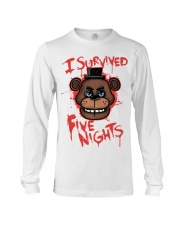 85 I Survived Five Nights Kids T S Long Sleeve Tee thumbnail