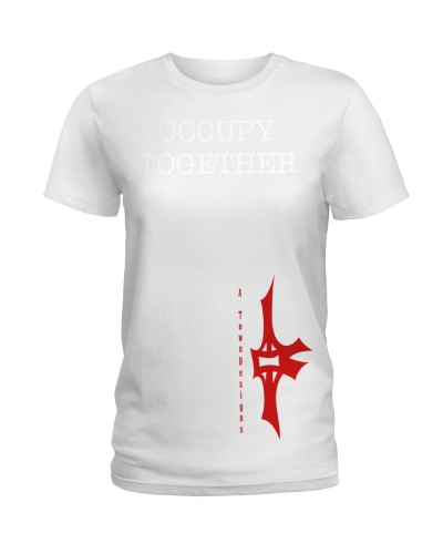 143 Occupy Together Mens Fine Jersey T S