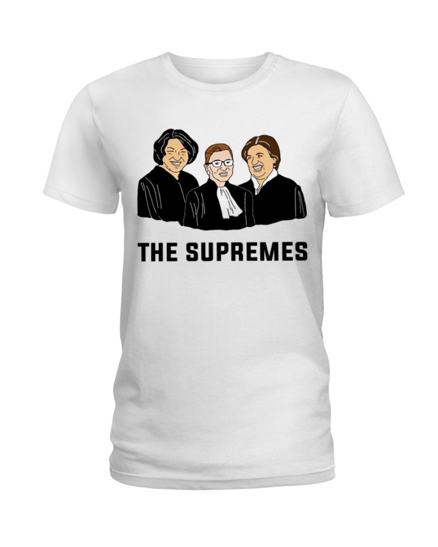 ed5ab3e991af Notorious RBG Ruth Bader Ginsburg Supreme Court Ju Ladies T-Shirt