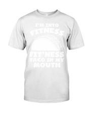 1Funny Fitness Taco Workout Pun Apparel Premium Fit Mens Tee thumbnail
