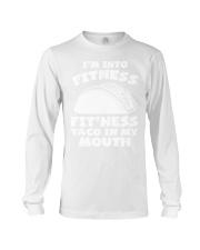 1Funny Fitness Taco Workout Pun Apparel Long Sleeve Tee thumbnail