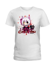 202 Fnaf Mangle Catch U Womens Organic T S Ladies T-Shirt front