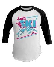 259Retro Ski 80S Outfit 90S Baseball Tee thumbnail