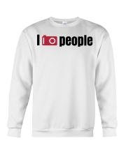 159 I Take Photos Of People Tote Crewneck Sweatshirt thumbnail