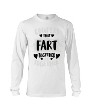 97 Couples That Fart Together Stay Together Mens H Long Sleeve Tee thumbnail