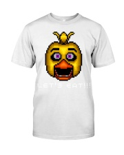 75 Five Nights At Freddys Chica Pixel Art Mens Pre Classic T-Shirt thumbnail