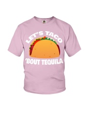 19Taco Tequila Funny Mexican Food Cinco De Mayo Youth T-Shirt thumbnail