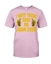 198Funny Taco Pun Cinco De Mayo Apparel Classic T-Shirt front