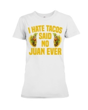 198Funny Taco Pun Cinco De Mayo Apparel Premium Fit Ladies Tee thumbnail