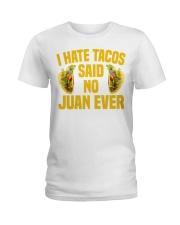198Funny Taco Pun Cinco De Mayo Apparel Ladies T-Shirt thumbnail