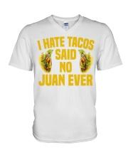 198Funny Taco Pun Cinco De Mayo Apparel V-Neck T-Shirt thumbnail