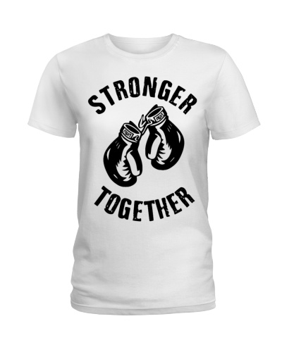 192 Stronger Together Womens Longer Length Fitted