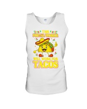 372This Postal Worker Will Work For Tacos Unisex Tank thumbnail