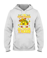 372This Postal Worker Will Work For Tacos Hooded Sweatshirt thumbnail