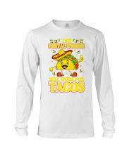 372This Postal Worker Will Work For Tacos Long Sleeve Tee thumbnail