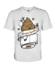 138 Always Together Baseball T S V-Neck T-Shirt thumbnail