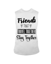 100 Friends That Travel Together Stay Together Wom Sleeveless Tee thumbnail