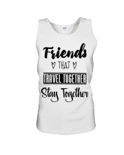 100 Friends That Travel Together Stay Together Wom Unisex Tank tile