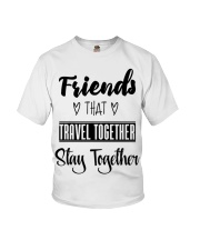 100 Friends That Travel Together Stay Together Wom Youth T-Shirt thumbnail
