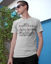 24th birthday the one where i was quarantined 2020 Classic T-Shirt apparel-classic-tshirt-lifestyle-17