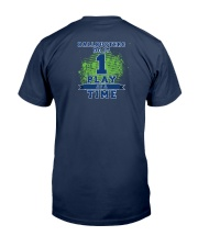 Broward Ballbusters Fan Tshirts Classic T-Shirt back