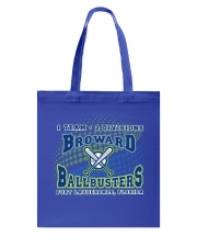 Broward Ballbusters Fan Tshirts Tote Bag thumbnail