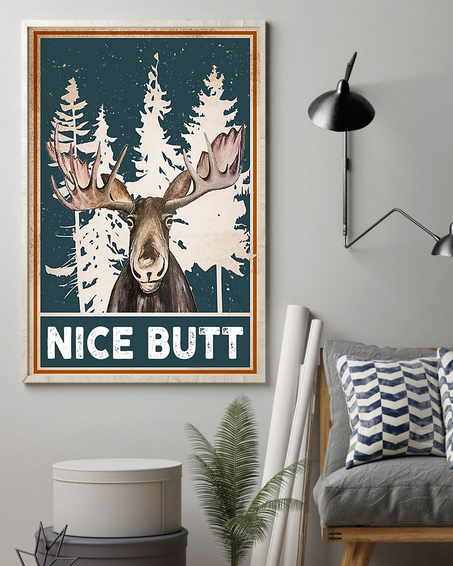 Moose nice butt poster