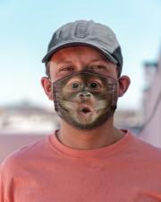 Monkey funny Cloth face mask aos-face-mask-lifestyle-06