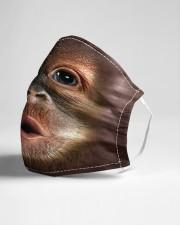 Monkey funny Cloth face mask aos-face-mask-lifestyle-21