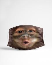 Monkey funny Cloth face mask aos-face-mask-lifestyle-22