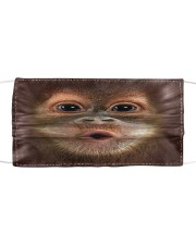 Monkey funny Cloth face mask front