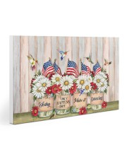 Hummingbirds 4th of July Gallery Wrapped Canvas Prints tile