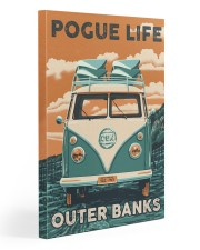 Pogue liffe outer banks 20x30 Gallery Wrapped Canvas Prints front