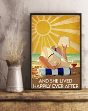 she lived happily ever after 16x24 Poster lifestyle-poster-3