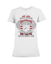 We Are AirCraft Mechanics Premium Fit Ladies Tee tile