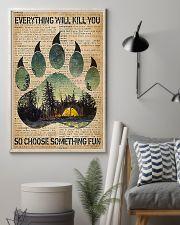 Camping Choose Something Fun 11x17 Poster lifestyle-poster-1