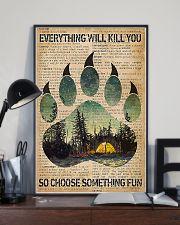 Camping Choose Something Fun 11x17 Poster lifestyle-poster-2