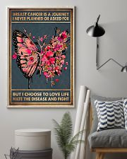 Breast Cancer is a journey 11x17 Poster lifestyle-poster-1